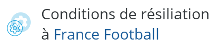 condition resiliation france football
