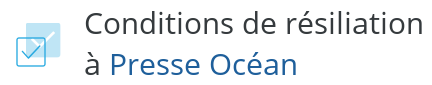 condition resiliation presse ocean
