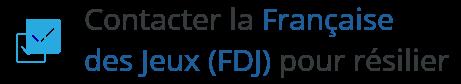 contact fdj francaise des jeux resiliation