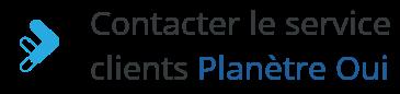 contact service client planete oui