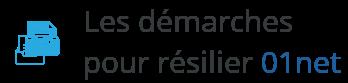 demarche resilier 01net