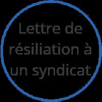 lettre de résiliation à un syndicat Aide en ligne pour résilier votre abonnement : Procédure, lettre  lettre de résiliation à un syndicat