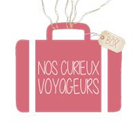 logo officiel nos curieux voyageurs