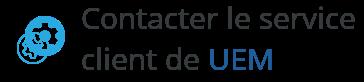 contact service client uem