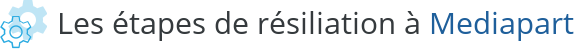 etapes resiliation mediapart