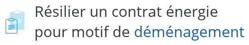 lettre type resiliation energie