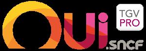 logo officiel oui sncf tgv pro