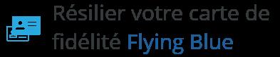 resilier carte flying blue