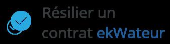 resilier contrat ekwateur