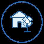 Logo logement et énergie