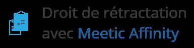 retractation meetic affinity